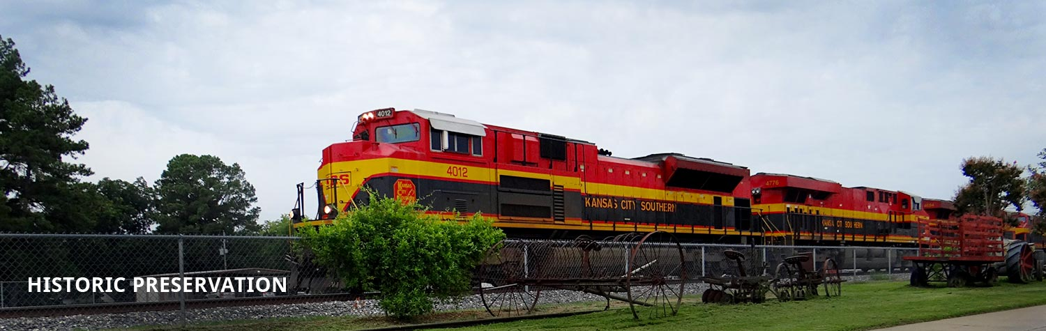 Kansas City Southern train